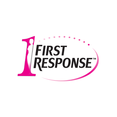 More information about First Response. First Response logo.