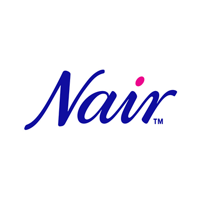 More information about Nair. Nair logo.
